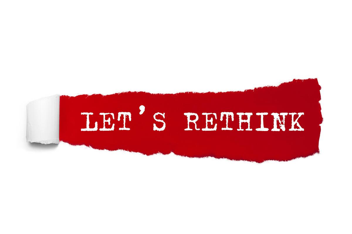 Lets Rethink DRPs